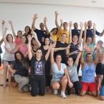 Participantes e professores do Fit & Fun