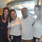Paula Bottesini, Sabrina Moretti, Thiago Pinheiro e Giulianne Orsati, da R11