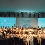 Premiados e executivos da Rede Iberostar