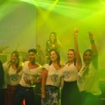 Premiados no Estrellas aproveitaram o show da cantora baiana