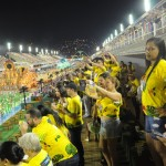 Primeiro dia de carnaval do RJ lotou o camarote que teve o patrocínio de Curaçao