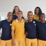 Professores do centro Fit & Fun do Iberostar