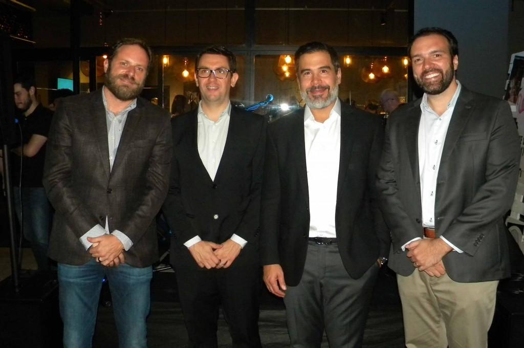 Evento reuniu representantes das duas empresas no Sky Hall Terrace Bar