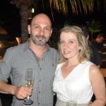 Ricardo Mauad, da Flytour, com sua esposa, Juliana Mauad