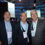 Rony Figueiredo, da Eventec Eventos e Promoções, Aluisio Lima, da Great Finds, e David Barioni, da SPTURIS