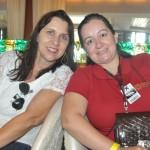 Sandra Felix, da Costa Verde Turismo, e Carolina Florencio, da Boutique do Turismo