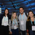 Vanessa Okara, Alessandra Bocchile, Felipe Robledo e Suelda Vicente, da LATAM