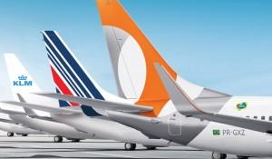 Gol e Air France-KLM celebram 800.000 passageiros transportados desde 2014