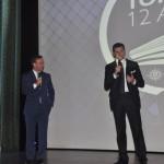 Adrian Ursilli, diretor geral da MSC no Brasil, e Achille Staiano, Chief Sales Officer abriram o evento