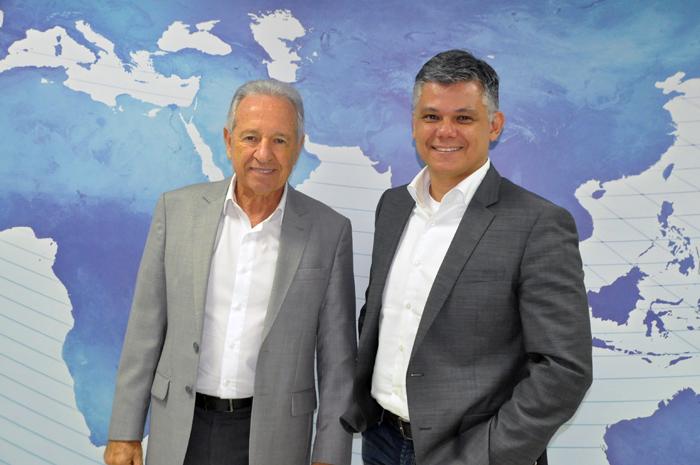 Afonso Louro, diretor Geral, e Edson Akabane, head de Vendas da Visual Turismo