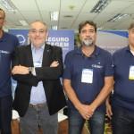 Agnaldo Abrahão, CEO, com Luciano Barros, Evandro Leiras e João Mario, da ITA