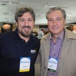 Alexandre Lima, da New It, e Luiz Strauss, da Sindetur-RJ