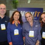 Alvaro Fazio, Ines Fabres, Danielle Diniz e Ana Rimola, da New It