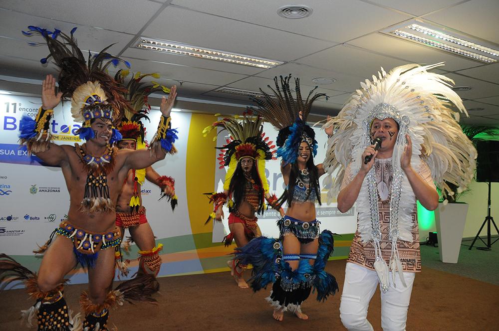 Amazonastur levou um pedaço do Festival de Paritins para o 11° ECB-RJ