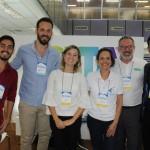Atila Paixão, Allan Gattiboni, Nicole Caus, Janine Rodrigues, Clovis Casemiro e João Bertino, da IGLTA