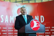 Turkish anuncia Samarcanda, no Uzbequistão, como seu 302º destino