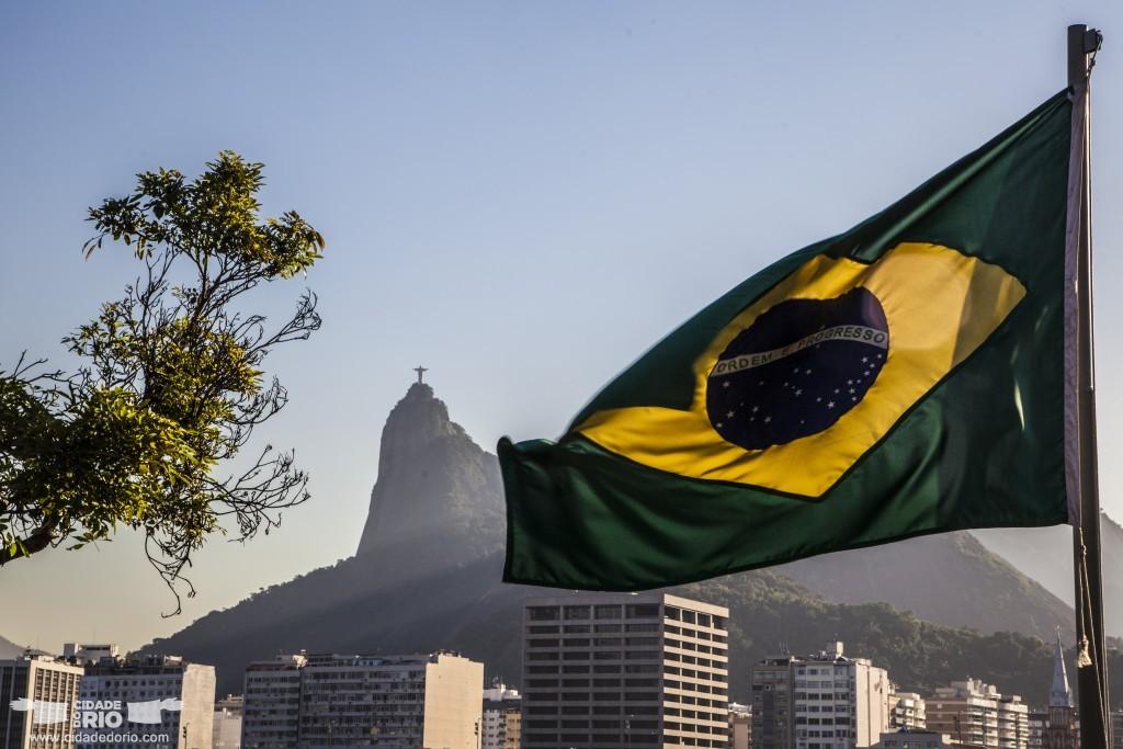 Brazil Flag Rj