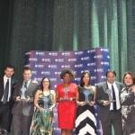 CVC, Agaxtur, Visual, LatamTravel e Flytour venceram na categoria Premium e receberam o prêmio de Marcia Leite, da MSC