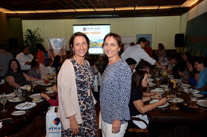 Carla e Ingrid Davidovich, diretoras da New Age
