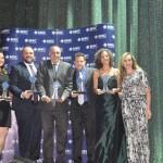 Copastur, Renase, Promoação, Girassol e Top Service venceram na categoria Grupos e recebram o prêmio de Eliane Lira