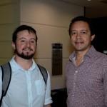 Daniel Thompson,  da Nova Operadora, e Daniel Gozalo, da Jeratur