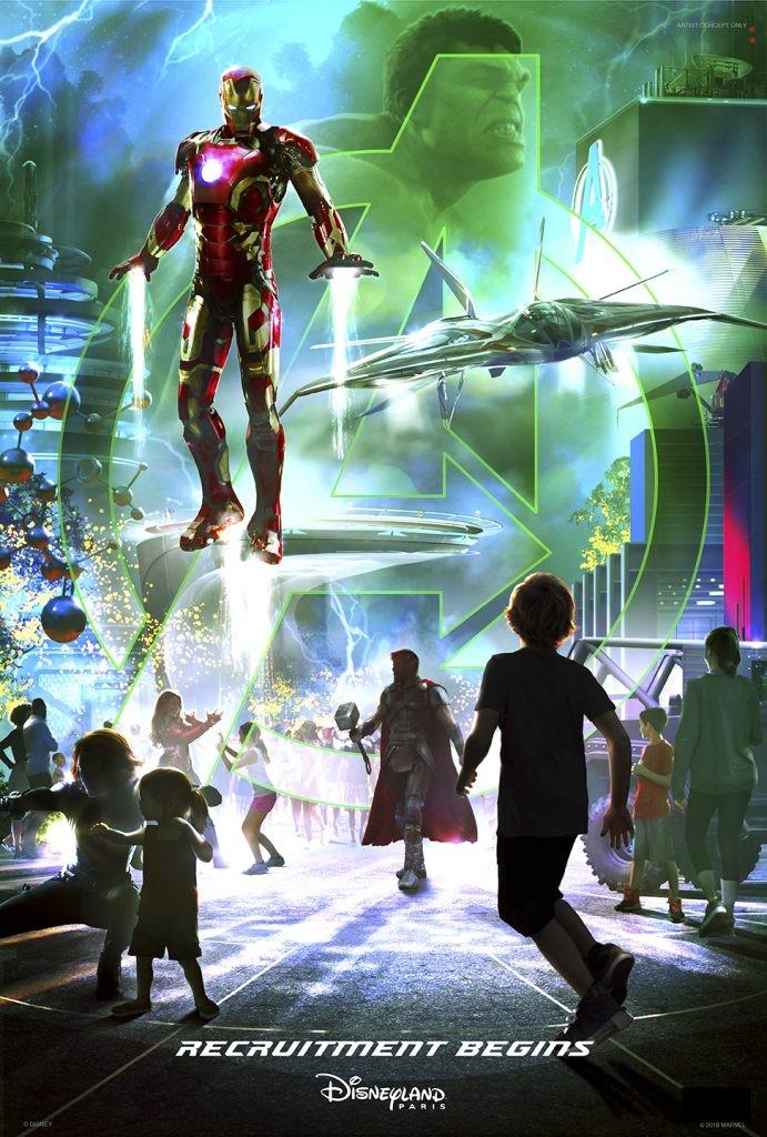 Vingadores na Disney