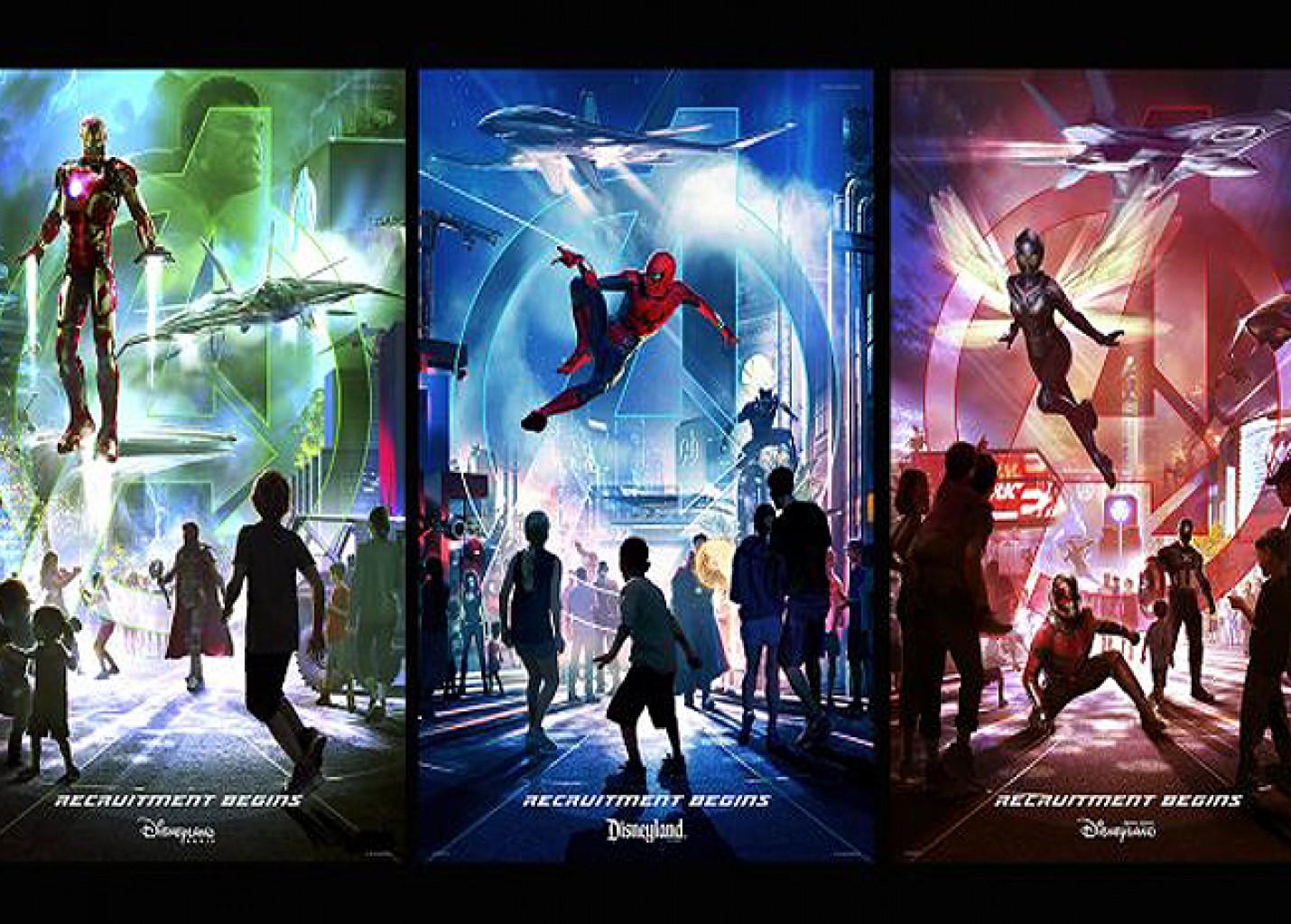 Disney terá nova área dos Vingadores nos parques da Califórnia, Paris e Hong Kong