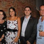 Elisabeth Mattos, da Elisabeth Mattos VIagens e Turismo, Helena Adnet, da Adnet Slow Travel, Carlo Carbone, do visitBerlin, e Pedro Adour, do Portfolio Travel