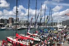 Embarcações da Volvo Ocean Race partem de Auckland com destino a Santa Catarina