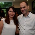 Esra Serpen Coelho, da Turkish Airlines, e Fernando Hagopian, da Ethiopian