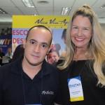 Fábio Martins e Viviane Fernandes, do Nice Via Apia
