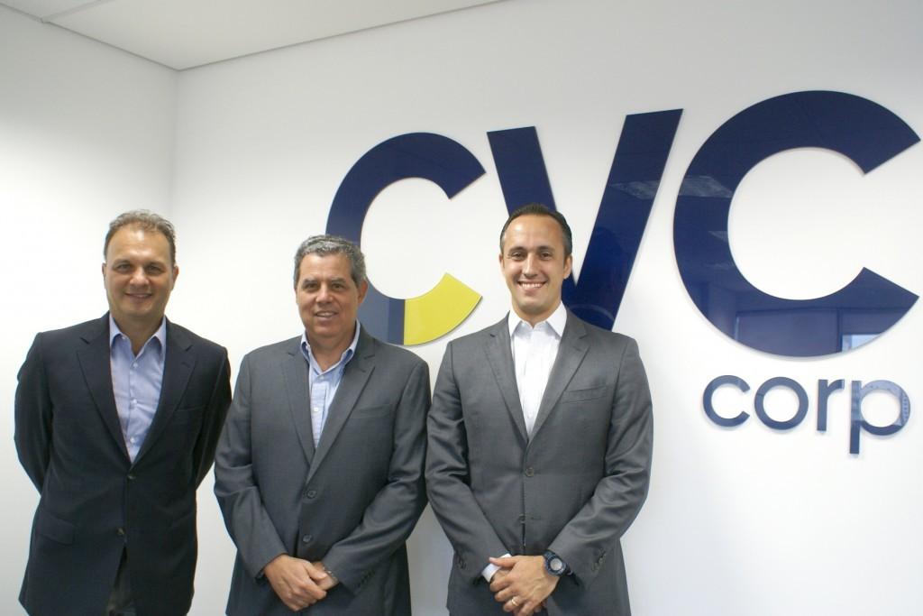 Luis Fernando Fogaça, que assumirá o cargo de presidente, Luiz Eduardo Falco, passará a ocupar um lugar no Conselho, e Leopoldo Saboya, que ocupará o posto de CFO