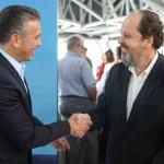 Felipe Carreras e Eduardo Sanovicz / Foto: Hesíodo Góes/Seturel-PE
