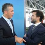 Felipe Carreras e Marcelo Bento / Foto: Hesíodo Góes/Seturel-PE