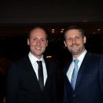Florian Wiesinger, do Turismo de Viena, e Klaus Hofstadler, do Consulado geral da Áustria
