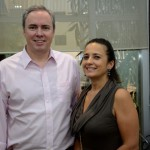 Frederico Levy e Gisela Perez, da Interpoint