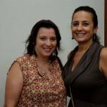Jaqueline Rodrigues, da MGM, e  Gisela Perez, da Interpoint