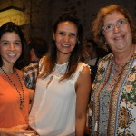 Julia duvivier e Mariana David De Sanson, da Art of Travel, com Marilene Dart, da Bontour Viagens