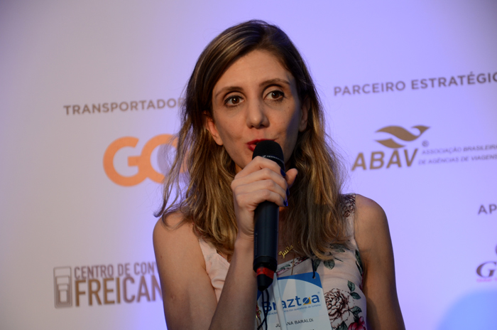 Juliana Baraldi, do Visit Califórnia