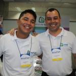 Junior Bonfim e Carlos Eduardo, da e-HTL
