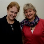 Karin Manheim Lima, da Emirates, e  Suzane Hammer, da Senator Tour