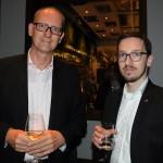 Klaus Zillikens, Cônsul Geral da Alemanha no RJ, e Christoph Robertson, diretor do Escritório da Áustria no RJ