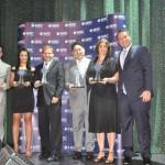 Logitravel, Dreamlines, Viajar Barato, Decolar.com e 123 Cruzeiros venceram na categoria OTA e receberam o prêmio de Flavio Lambstain, da MSC