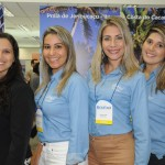 Luciana Gomez, Alessandra Veiga, Silvana Lins e Taluana Maron, da Bahiatursa