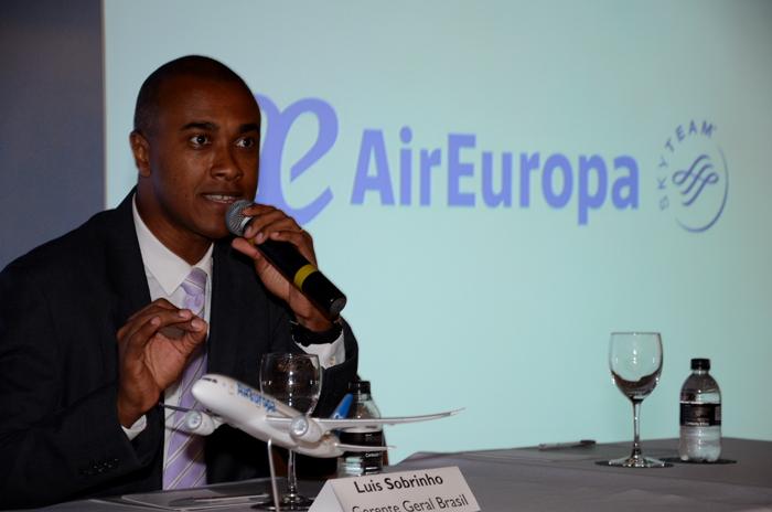 Luis Sobrinho, gerente geral Brasil da Air Europa