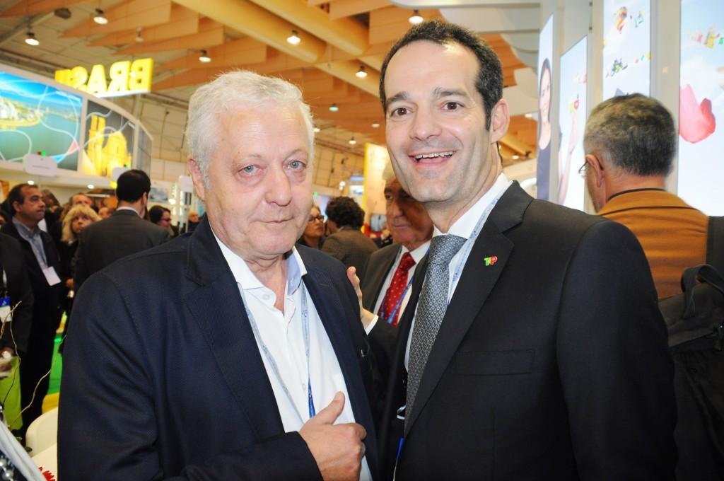 Mario Carvalho e Antonoaldo Neves, da TAP