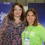 Magda Nassar, da Braztoa, com Solange Portela, subsecretária de Turismo do RN