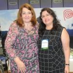 Magda Nassar, presidente da Braztoa, e Milagros Ochoa, diretora do Turismo do Peru no Brasil