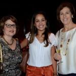 Marcia Miranda, da Luxury ID Travel, Michelle e Lucila Nedelciu, da Raidho