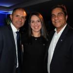 Marcos Gonçalves, Tatiane Viegaz e Sérgio Candido, da Nobile